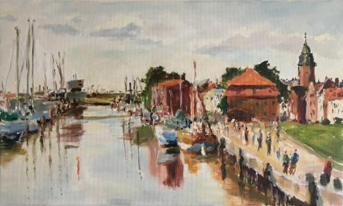 Am Hafen, Glückstadt